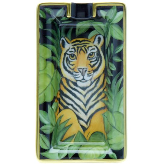 Petit Cendrier Tigre naïf de la Jungle
