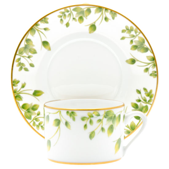 tasse assiette bourgeon