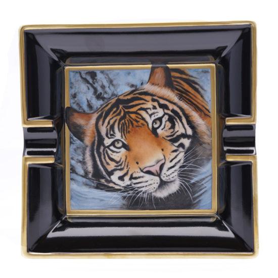 Cendrier carré Tigre du Lac