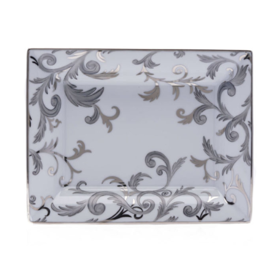 VP arabesque platine