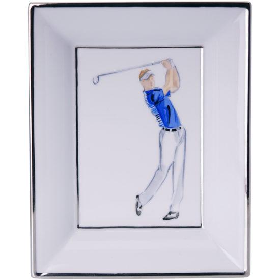 Vide-poches Golfeur Bleu